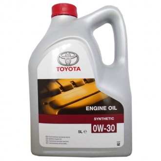 Моторное масло TOYOTA Engine Oil 0W-30, 5 л