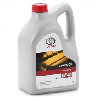 Моторное масло TOYOTA Engine Oil 5W-40, 5 л