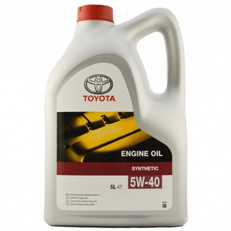 Моторное масло TOYOTA Engine Oil SAE 5W-40, 5 л