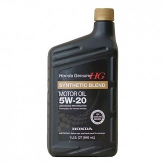 Моторное масло HONDA Synthetic Blend SAE 5W-20, 0.946 л